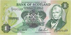 1 Pound ÉCOSSE  1988 P.111g NEUF