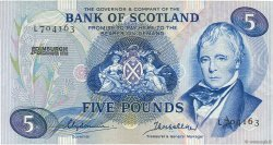 5 Pounds  SCOTLAND  1972 P.112b UNC-