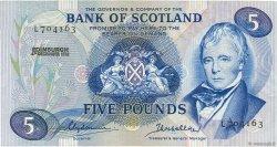 5 Pounds ÉCOSSE  1972 P.112b pr.NEUF