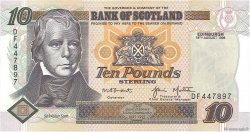 10 Pounds  SCOTLAND  1998 P.120c