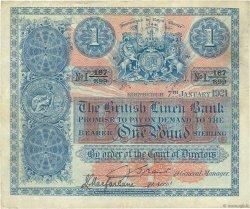 1 Pound ÉCOSSE  1921 P.151b TB+