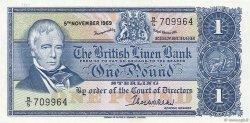 1 Pound ÉCOSSE  1969 P.169a pr.NEUF
