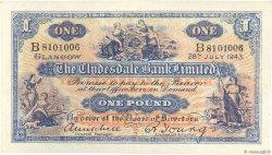 1 Pound ÉCOSSE  1943 P.189c SUP