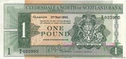 1 Pound ÉCOSSE  1962 P.195a TTB+