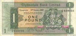 1 Pound ÉCOSSE  1967 P.195a TTB