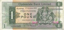 1 Pound ÉCOSSE  1968 P.202 TTB