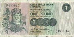 1 Pound ÉCOSSE  1972 P.204b TB+