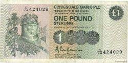 1 Pound ÉCOSSE  1983 P.211b TB