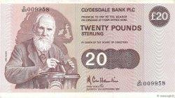 20 Pounds ÉCOSSE  1987 P.215c TTB