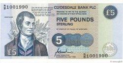 5 Pounds ÉCOSSE  1996 P.218c NEUF
