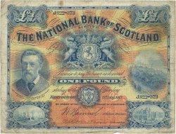 1 Pound ÉCOSSE  1917 P.248a B+