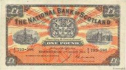 1 Pound ÉCOSSE  1953 P.258b TTB