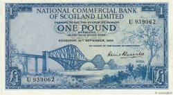 1 Pound ÉCOSSE  1959 P.265 SUP