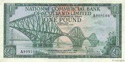 1 Pound ÉCOSSE  1968 P.274a TTB