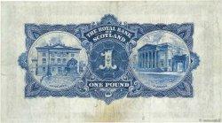1 Pound ÉCOSSE  1927 P.321 TTB