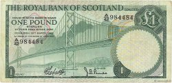 1 Pound ÉCOSSE  1969 P.329a TB+