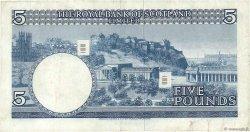 5 Pounds ÉCOSSE  1969 P.330 TTB