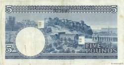 5 Pounds ÉCOSSE  1970 P.335 TTB