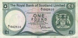 1 Pound ÉCOSSE  1972 P.336a TTB