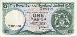 1 Pound ÉCOSSE  1976 P.336a TTB+