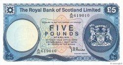 5 Pounds ÉCOSSE  1975 P.337a pr.NEUF