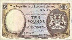 10 Pounds ÉCOSSE  1981 P.338a pr.TTB