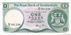 1 Pound ÉCOSSE  1984 P.341b SUP