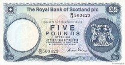 5 Pounds ÉCOSSE  1982 P.342a NEUF