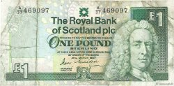 1 Pound ÉCOSSE  1987 P.346a B