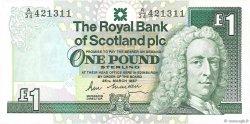 1 Pound ÉCOSSE  1987 P.346a NEUF