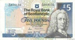 5 Pounds ÉCOSSE  1987 P.347a TTB