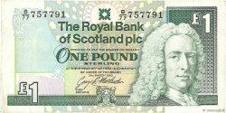 1 Pound ÉCOSSE  1992 P.351c TTB