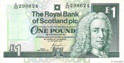1 Pound ÉCOSSE  2001 P.351e NEUF