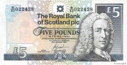 5 Pounds ÉCOSSE  2005 P.352d NEUF