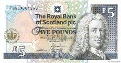 5 Pounds ÉCOSSE  2002 P.362 NEUF
