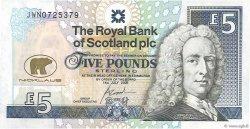 5 Pounds ÉCOSSE  2005 P.365 SUP