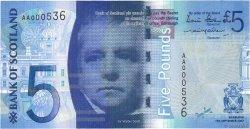 5 Pounds ÉCOSSE  2007 P.124a pr.NEUF