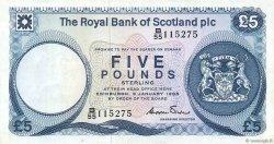 5 Pounds ÉCOSSE  1985 P.342c TTB