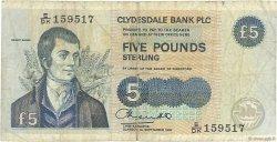 5 Pounds ÉCOSSE  1994 P.218b pr.TB