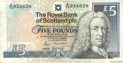 5 Pounds ÉCOSSE  1988 P.352a TB+