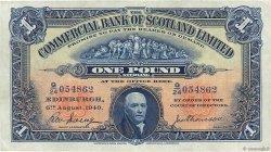 1 Pound ÉCOSSE  1940 PS.331b TTB+