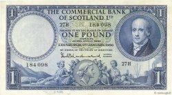 1 Pound ÉCOSSE  1956 PS.336 SUP