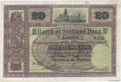 20 Pounds ÉCOSSE  1934 PS.641 TTB