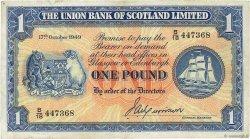 1 Pound ÉCOSSE  1949 PS.816a pr.TTB