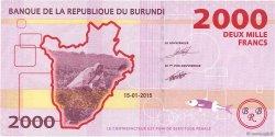 2000 Francs BURUNDI  2015 P.52 NEUF