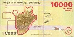 10000 Francs BURUNDI  2015 P.54 NEUF