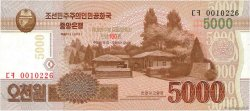 5000 Won CORÉE DU NORD  2013 P.New NEUF