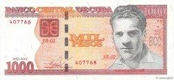 1000 Pesos CUBA  2010 P.New pr.NEUF