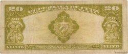 20 Pesos CUBA  1945 P.072f pr.TB