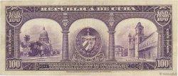 100 Pesos CUBA  1945 P.074d TTB